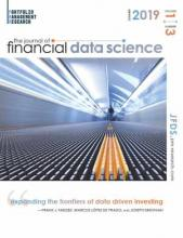 The Journal of Financial Data Science: 1 (3)