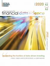 The Journal of Financial Data Science: 2 (2)