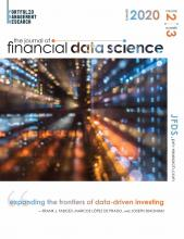 The Journal of Financial Data Science: 2 (3)