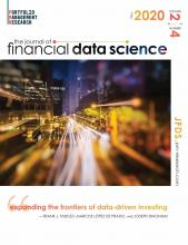The Journal of Financial Data Science: 2 (4)