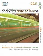 The Journal of Financial Data Science: 3 (2)